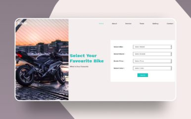 bikie website template