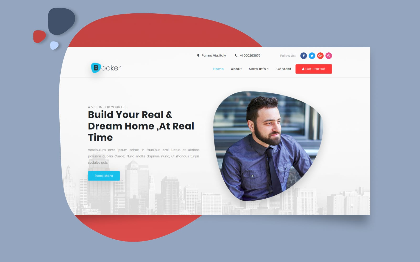 Booker Real Estate Category Bootstrap Responsive Web Template