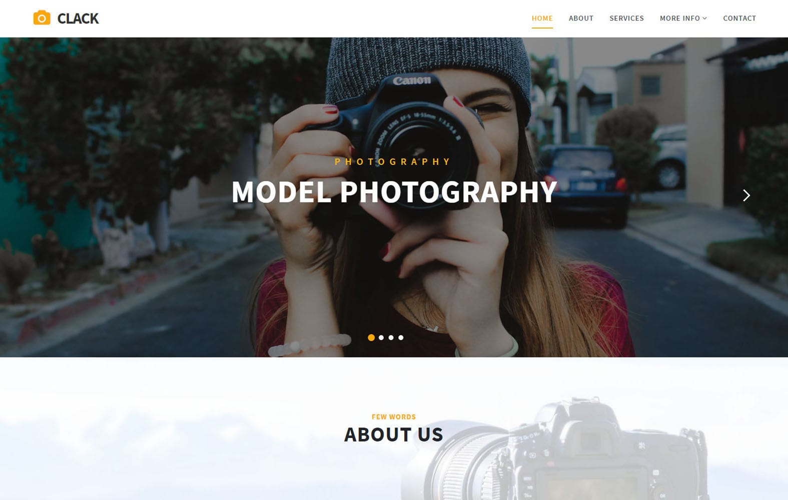 Clack Photo Gallery Bootstrap Responsive Web Template
