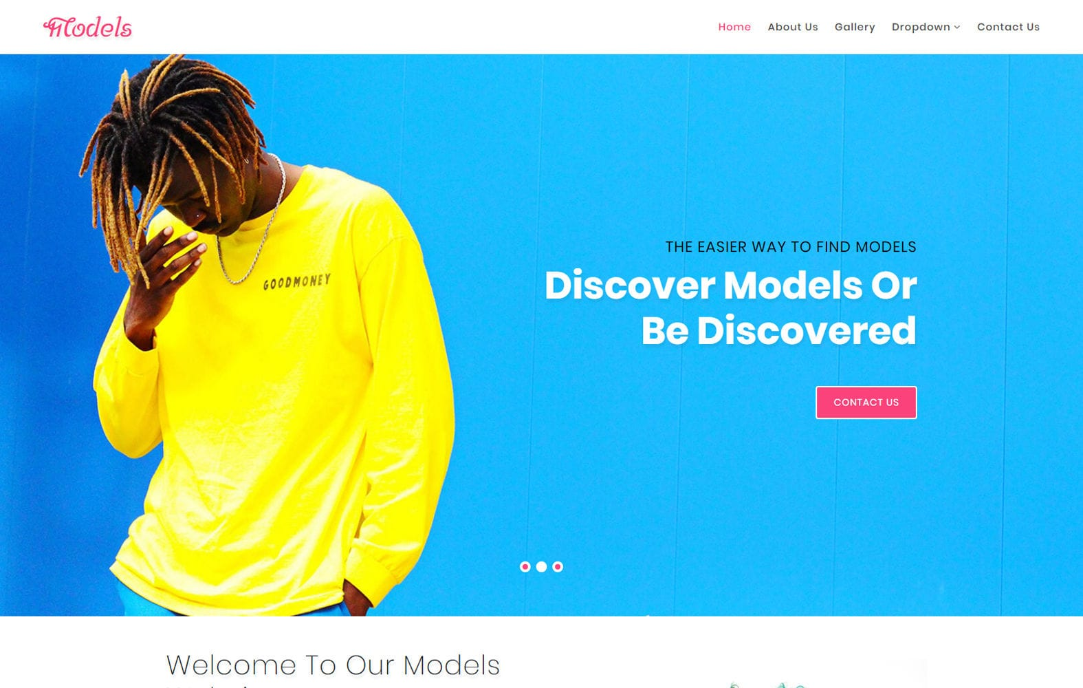 Models a Fashion Category Bootstrap Responsive Web Template