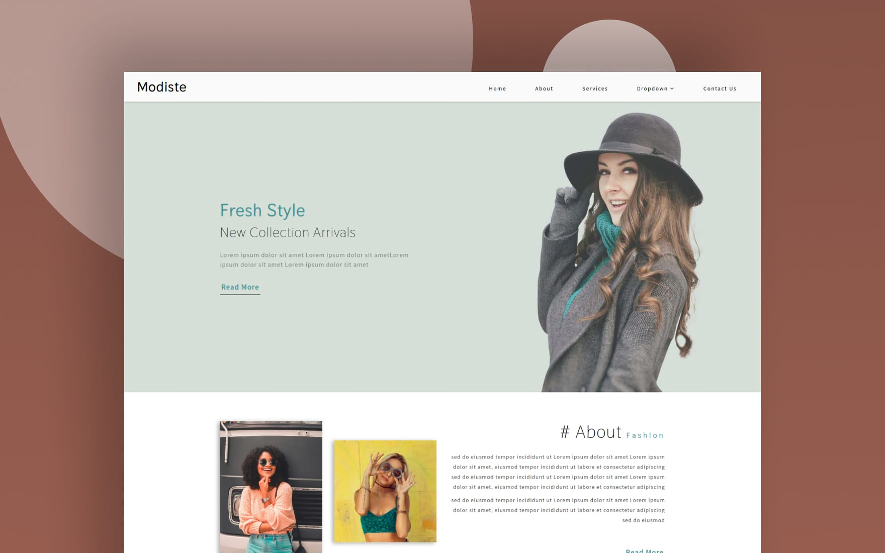 Modiste a Fashion Category Bootstrap Responsive Web Template