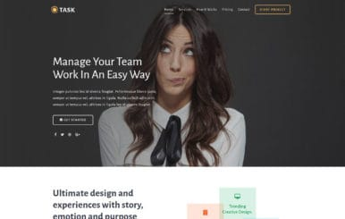 Task a Business Category Bootstrap Responsive Web Template