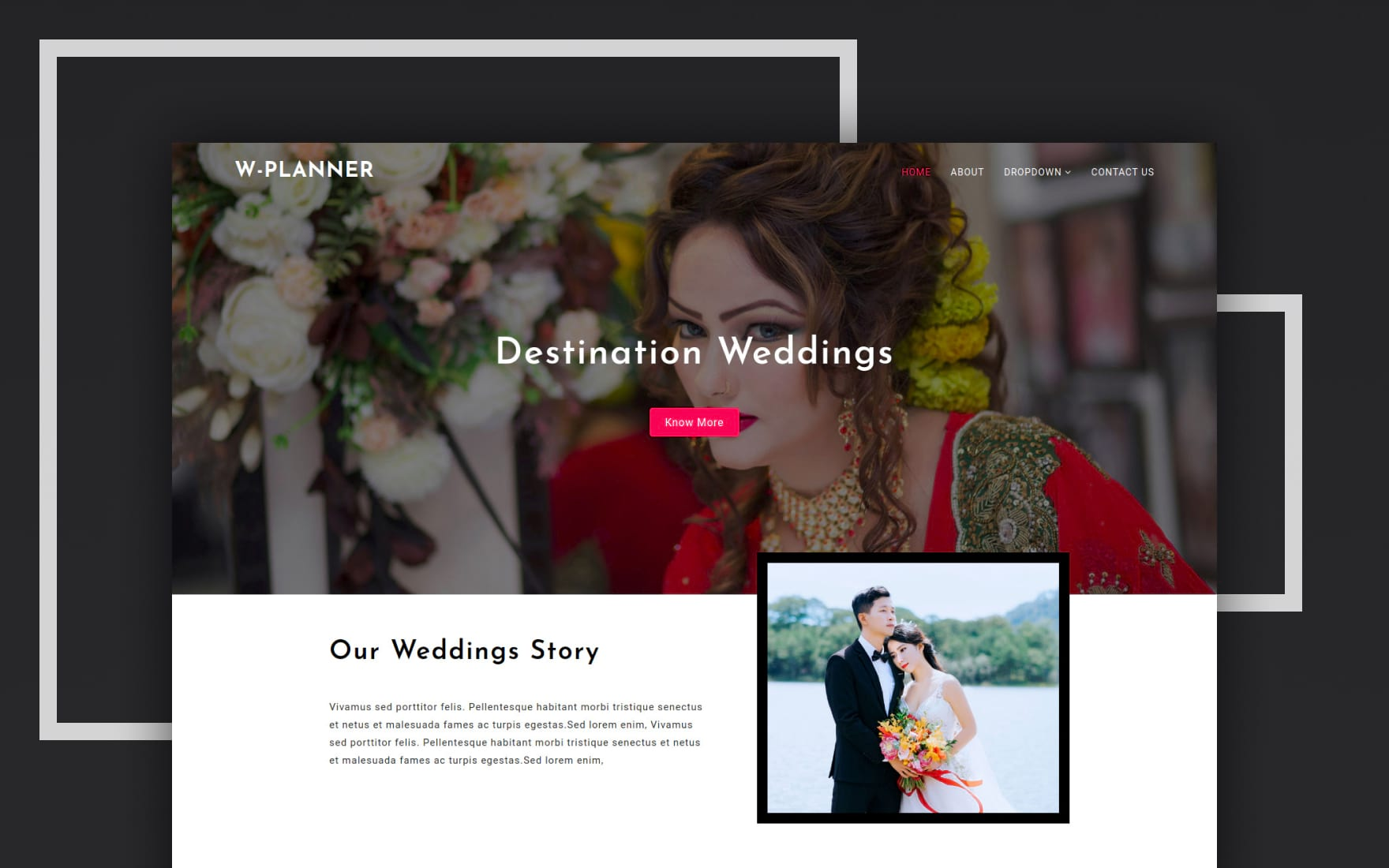 Wedding Planner a Wedding Category Bootstrap Responsive Web Template