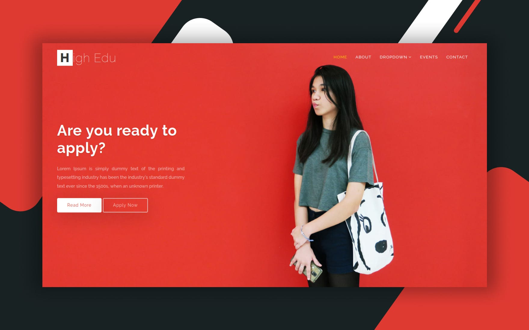 High Edu Education Category Bootstrap Responsive Web Template