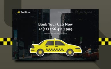 Taxi Drive a Transportation Category Bootstrap Responsive Web Template