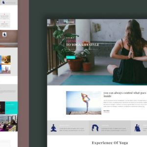 vigour website template