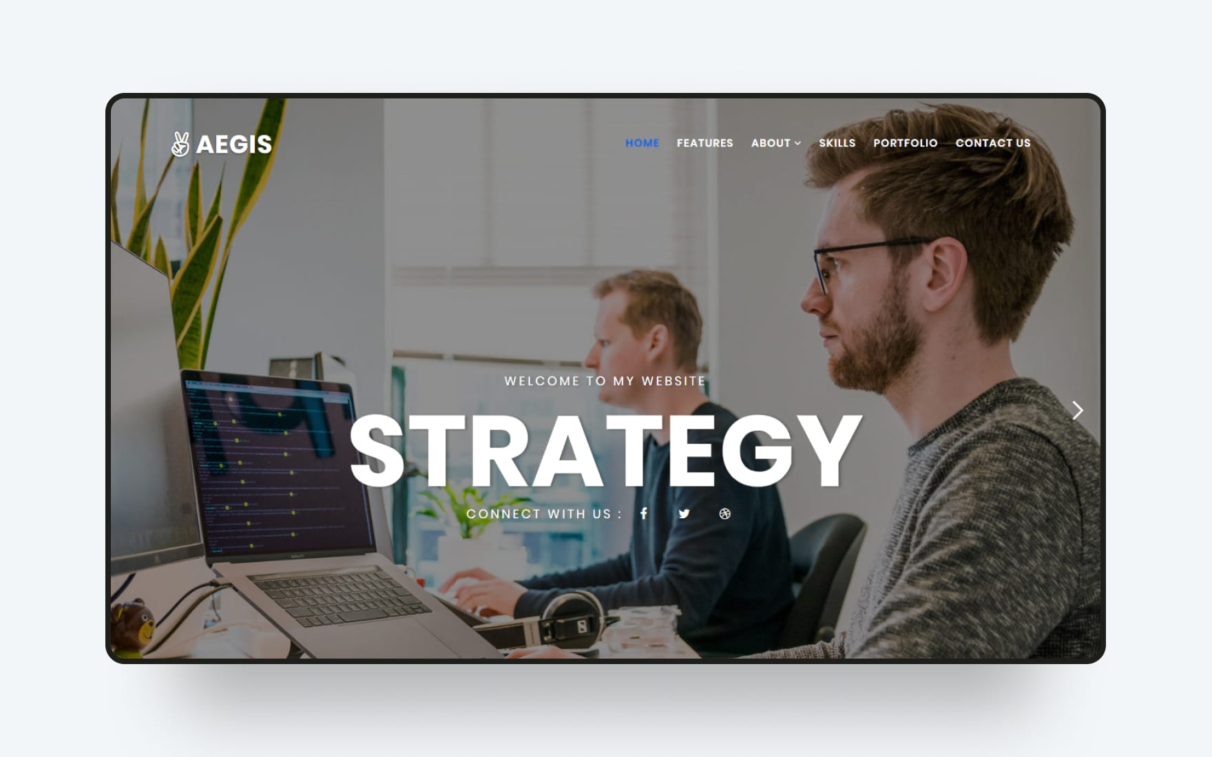 Aegis Coraporate Category Bootstrap Responsive Website Template