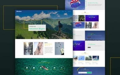 adventure-Boostrap-website-templates