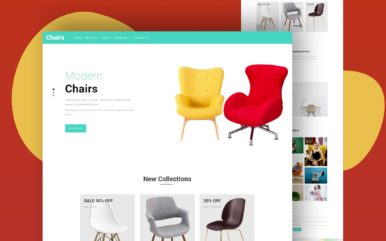 chairs website template