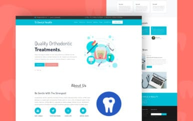 Dental Health a Medical Category Flat Bootstrap Responsive Web Template