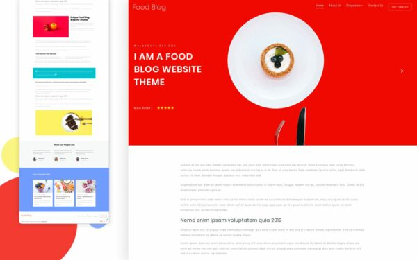 food-blog-w3layouts