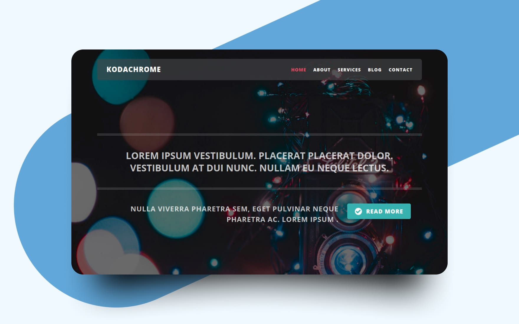Kodachrome a Photography Category Bootstrap Responsive Web Template