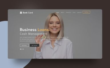 Bank Card a Banking Category Flat Bootstrap Responsive Web Template