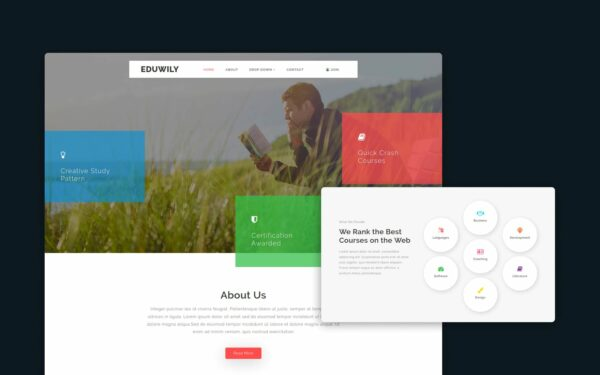 EduWily-website-template
