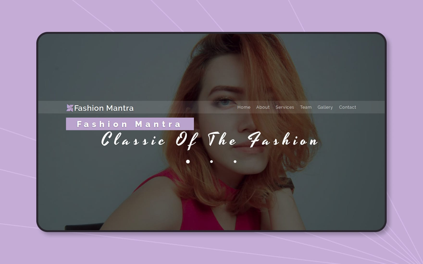 Fashion-mantra-Boostrap-website-templates