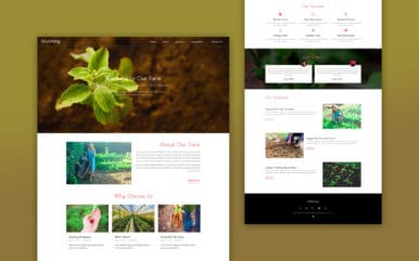 mulching-website-template