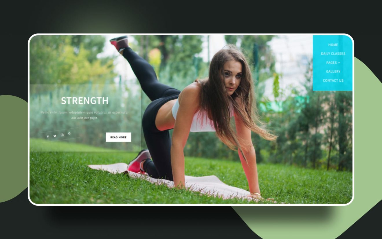 Strength a Sports Category Bootstrap Responsive Web Template