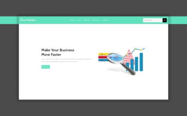 pro-market-website-template