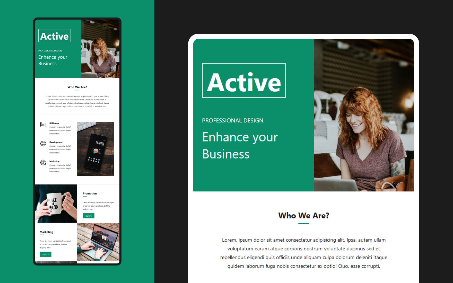 Active Featured Image