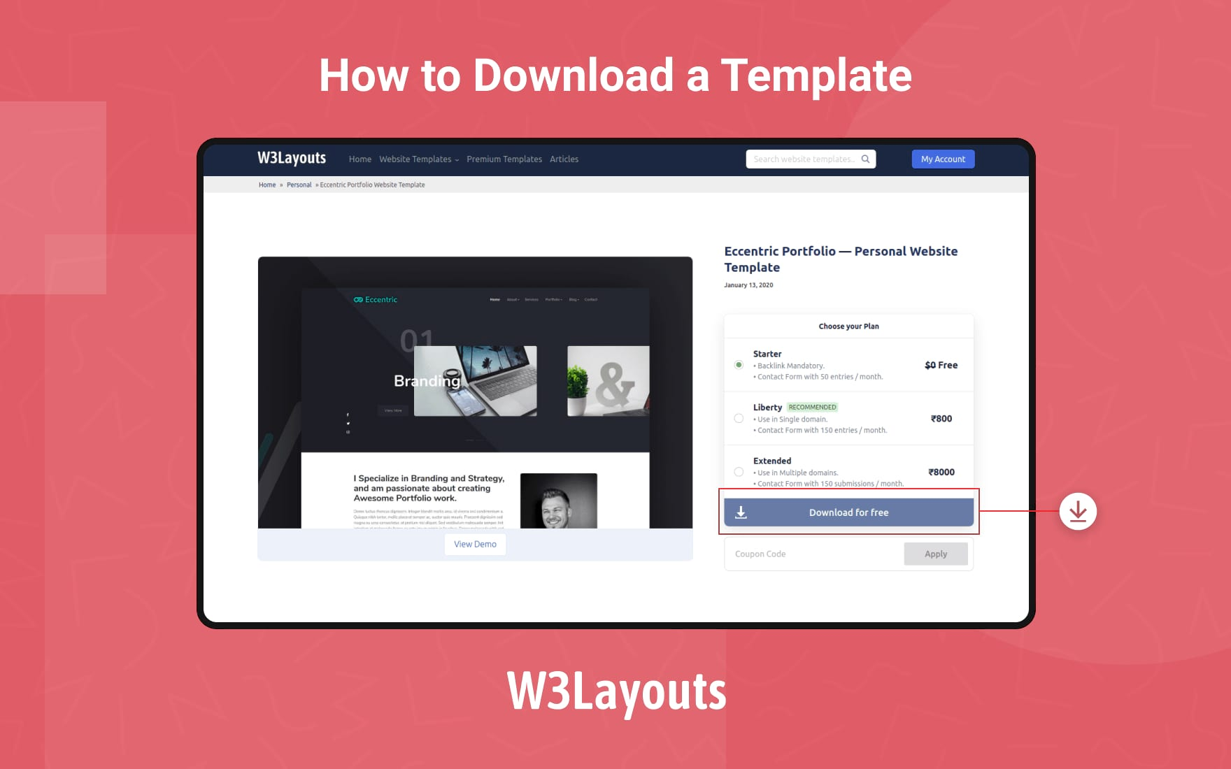 how to download featured image