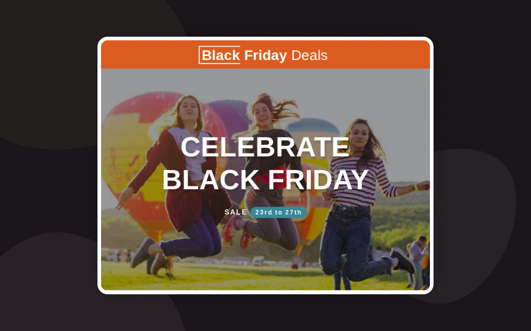 Black Friday 2019 Deals Responsive Email Template