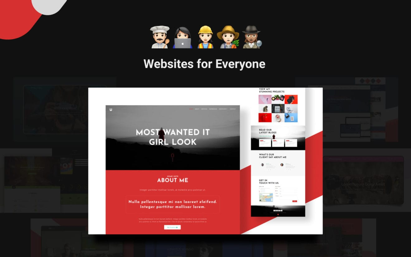 20 Best Personal Website Templates for everyone