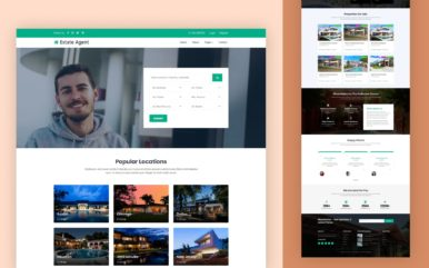 Estate Agent Website Template