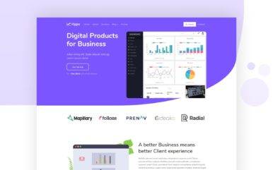 Hype Website Template