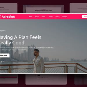 agreeing website template