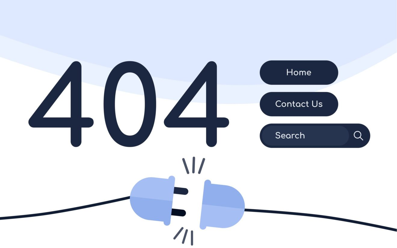 How to make the best use of 404 error page?