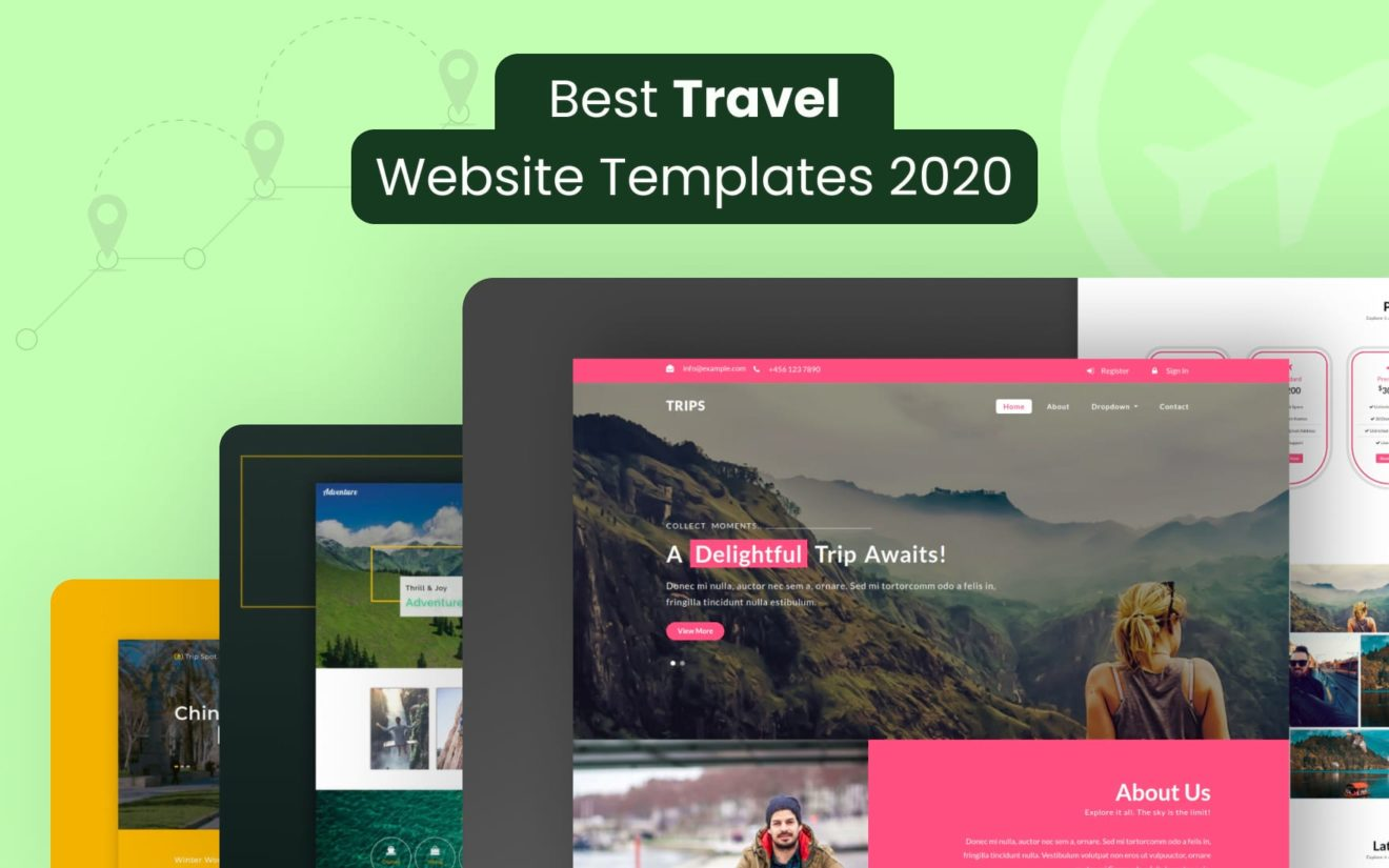 Best Free Travel Website Templates 2020
