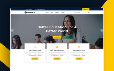 Mastery Website Template