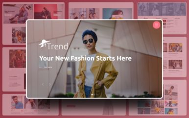 Trend Website Template