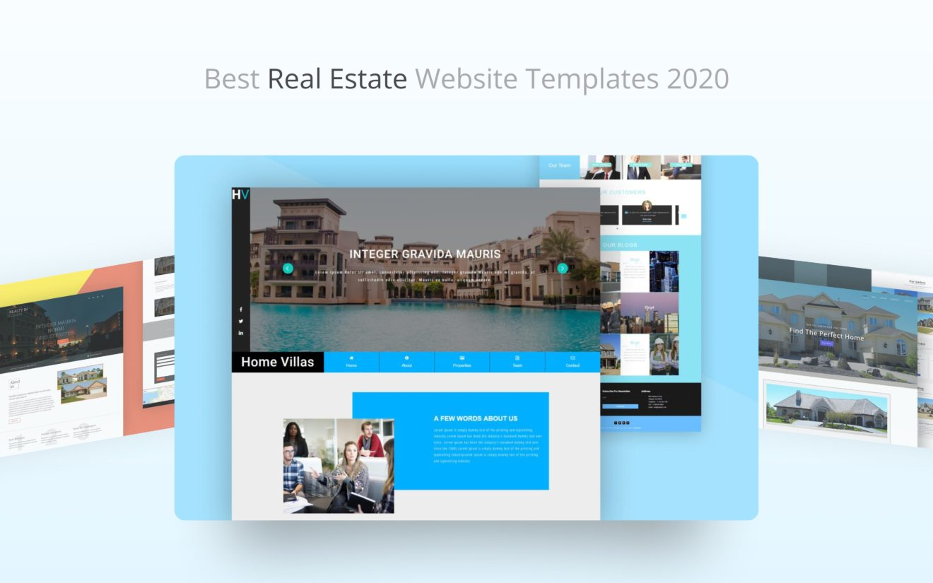 Best Free Real Estate Website Templates 2020