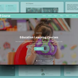 course an education template