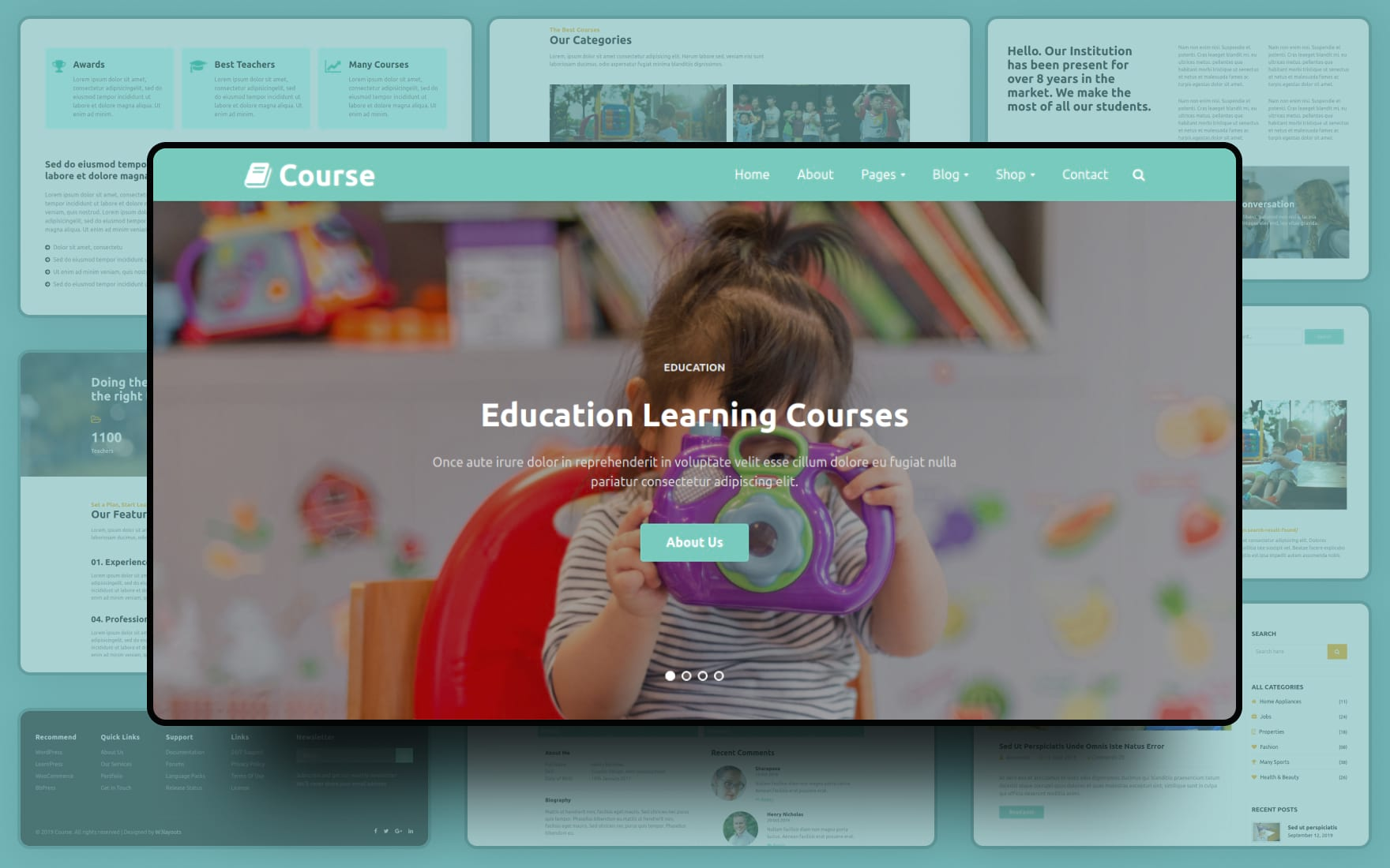 Course Website Template