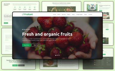 Fruitant Website Template