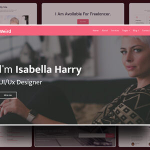 Weird Website Template