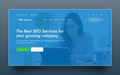 SEO Agency Website Template