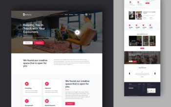 advisory website template
