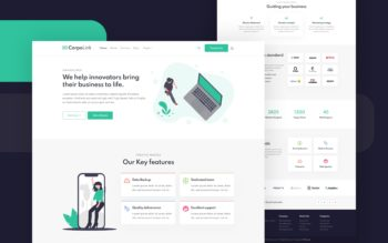 Corpolink Website Template