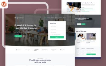 HD SpaceDesk WordPress Theme