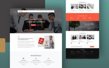 Partnership Website Template