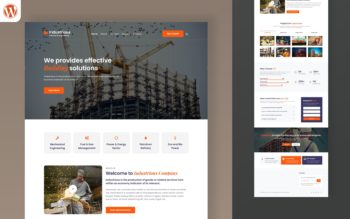 industrious wordpress theme