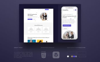 CreatePro WordPress Theme