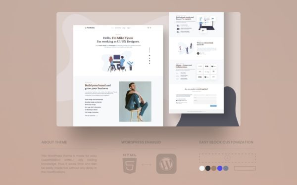 IPortfolio wordpress theme