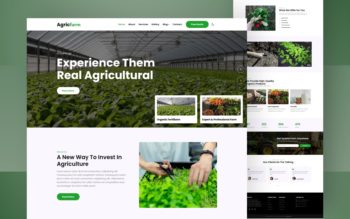 agricfarm website template
