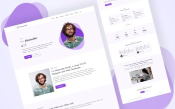 alexander website template