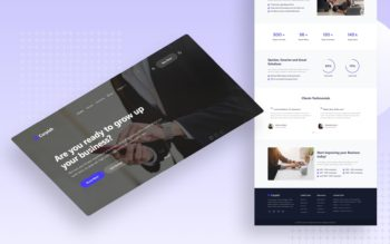 corpish website template