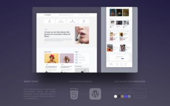 news blog wordpress theme